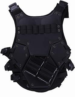 トランスフォーマー タイプ タクティカルベスト アーマー TF3 SWAT ブラック TAN (ブラック)