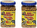 (2 Pack) Zoo Med Large Sun-dried Red Shrimp 10oz Each Zoo Med's Large Sun-Dried Red Shrimp are an excellent high-quality, protein rich food ideal for large aquatic turtles and large size freshwater or marine aquarium fish and invertebrates Fish and t...