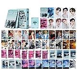 Kpop GOT7 Lomo Cards 54Pcs GOT7 Breath of Love : Last Piece New Album Card GOT7 Album Postcards GOT7 Mini Photo Cards Fans Gift