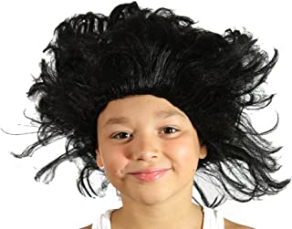 My Costume Wigs Boy`s Buckwheat Afro Wig (Black) One Size fits all