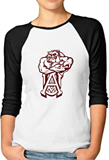 Aamu Logo Baseball Shirts Personalizedfashionable 3/4 Sleeve Clothing