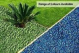 RockinColour - Pietre Decorative per Il Giardino, Colore: Azzurro Blu...
