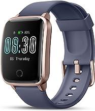 Lifebee Smartwatch, fitnessarmband, fitnesstracker, touchscreen, IP68 waterdicht, fitnesshorloge met stopwatch, stappentel...