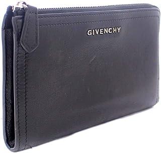 ジバンシー Givenchy L字ファスナー 長財布 ブラック ユニセックス レザー [中古]