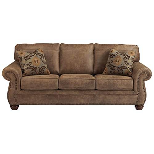 Signature Design by Ashley - Larkinhurst Contemporary Sofa, Earth
