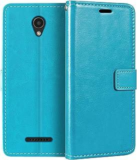 جراب محفظة Lenovo A1010، جراب قلاب مغناطيسي من الجلد الصناعي الممتاز مع حامل بطاقات ومسند لهاتف Lenovo Vibe B