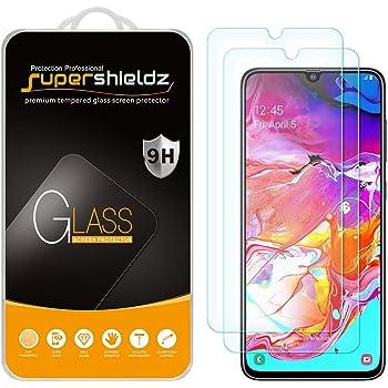 GzPuluz Glass Protector Film 25 PCS 9H 5D Full Glue Full Screen Tempered Glass Film for Galaxy A70