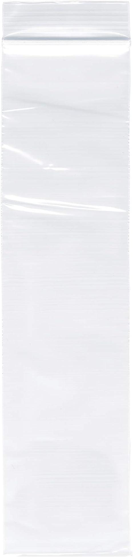 2 x 8 Pack of 200 2 Mil Plymor Zipper Reclosable Plastic Bags