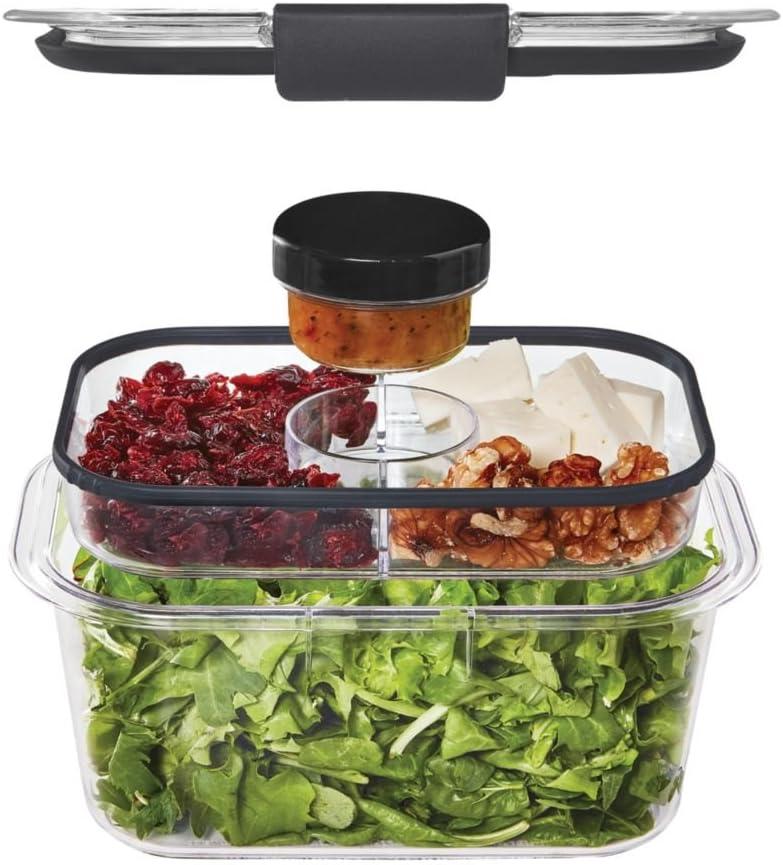Rubbermaid unisex Popular products Brilliance Food Storage Clear Small Organization