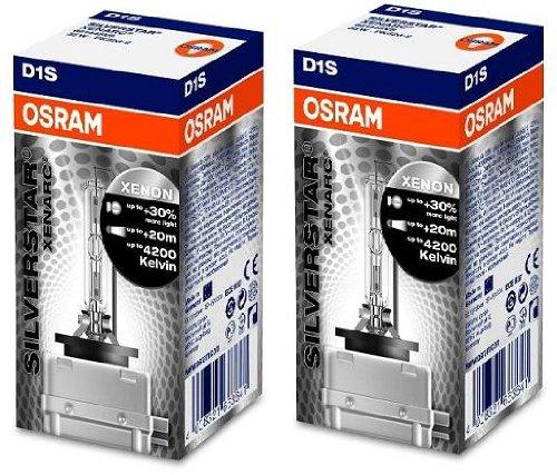 LAMPE 35W D1S XENARC - 159.27.32 - OSRAM XENARC® SILVERSTAR - 1 STÜCK - Sockel: PK32d-2 - ECE Kategorie: D1S -