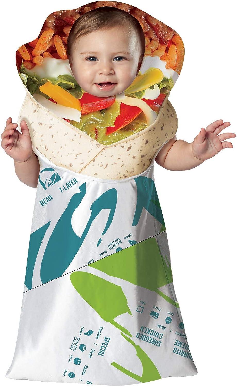 Rasta Imposta Taco Bell Free shipping Costume security Burrito Bunting Infant