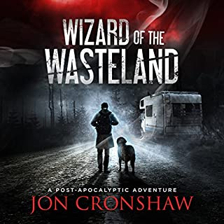 Wizard of the Wasteland audiobook cover art