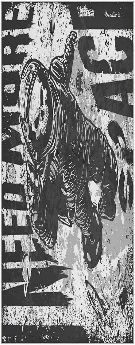 FVFV Art Space Phoenix wholesale Mall Skull Man Yoga Towel Mat Non Odor Slip Soft Super
