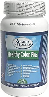 Omega Alpha Healthy Colon Plus 180 Capsules