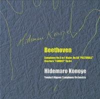 BEETHOVENSYMPHONY NO. 6 IN F MAJOROP. 68 PASTORALE/OVERTURE EGMONT OP. 84 by HIDEMARO KONOYE/YOMIURI NIPPON SYMPHONY ORCHESTRA (2015-09-23)