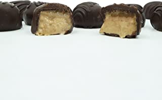Philadelphia Candies Homemade Maple Creams, Dark Chocolate 1 Pound Gift Box