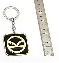Mct12 - Movie Jewelry Kingsman Keychain The Golden Circle Metal Key Ring Holder Car Pendant Men Chaveiro llaveros