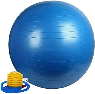 GT Anti Burst Gym Ball 75cm Fitness Yoga Exercise Home Pregnancy Birthing Ball with Foot Pump Thick Stability Ball Mini Pi...