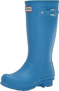 Hunter Kids Original Kids' Classic Rain Boot (Little Kid/Big Kid) Blue Bottle 2 Little Kid