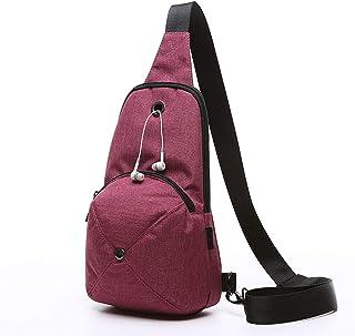 Crossbody Bag Leisure Sports Bag Hat Chest Bag 2L Men's Outdoor Small Backpack Wallet Shoulder Bags