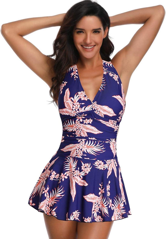 New Large Size Swimwear Women one Piece Swimsuit Plus Size Large Bust Bikinis Large Waist Swimwear