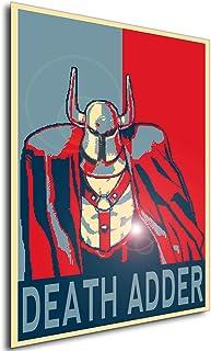 Instabuy Poster - Propaganda - Pixel Art - Golden Axe The Duel - Death Adder A4 30x21