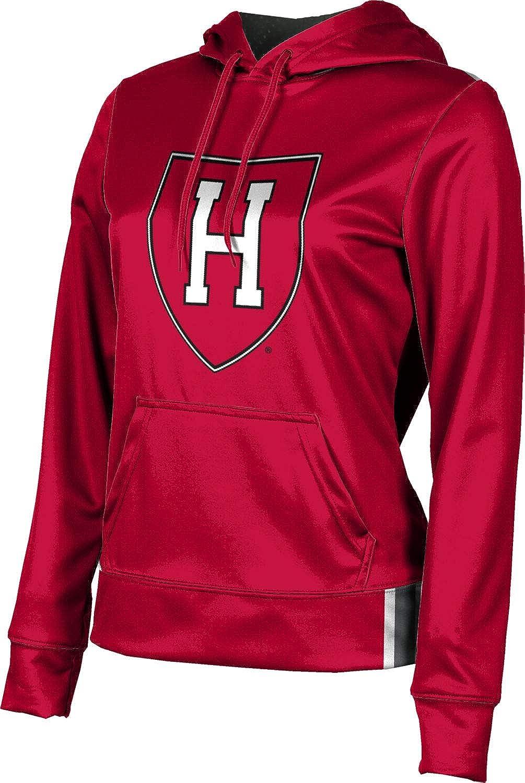 Harvard University Girls' Pullover Hoodie, School Spirit Sweatshirt (Solid)
