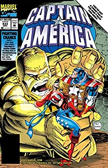 Captain America (1968-1996) #433 by [Mark Gruenwald, Dave Hoover, Danny Bulanadi]