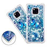 COTDINFOR Huawei Mate 20 Pro Liquid Case Cute 3D Glitter