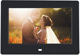 Mengen88 15 Inch Digital Photo Frame HD 1280x800 LED Screen with Infrared Remote Controller Support Photo//Music//Video Player /& Calendar Alarm Function