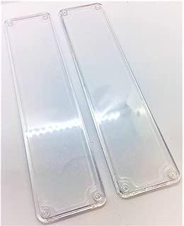 Remi Tools (R) 12 placas de empuje para puerta transparente