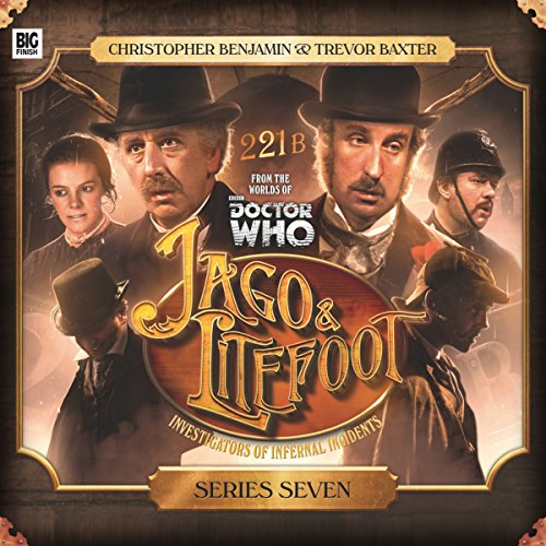 Jago & Litefoot: Series Seven                   De :                                                                                                                                 Jonathan Morris,                                                                                        James Goss,                                                                                        Simon Barnard,                   and others                          Lu par :                                                                                                                                 Trevor Baxter,                                                                                        Christopher Benjamin,                                                                                        Lisa Bowerman,                   and others                 Durée : 5 h et 15 min     1 notation     Global 5,0
