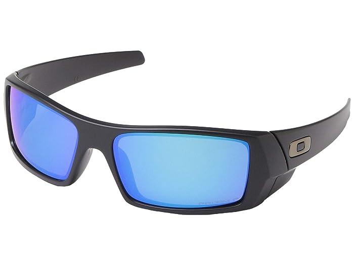 Oakley GasCan (Matte Black w/ PRIZM Sapphire Polarized) Sport Sunglasses