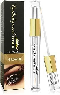 Eyelash Growth Serum- Natural Eyelash Growth Enhancer for Longer and Thicker, Fuller and Healthier Eyelash &Eyebrow - No More False Eyelashes & Eyebrow Tattooing-5ml