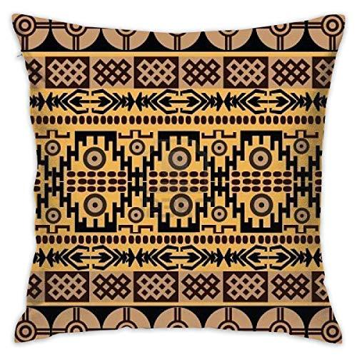 Federa decorativa per cuscino in stile etnico africano, per divano, decorazione per la casa, 45 x 45 cm
