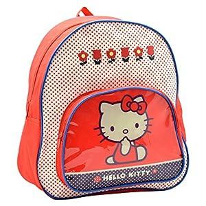 61VIYOMdbkL. SS300  - Hello Kitty Mochila Capacidad 30 x 8 x 28 cm Mochila Infantil 30 cm, Multicolor
