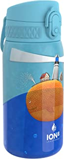 Ion8 Botella Agua Acero Inoxidable Termica Sin Fugas, 320ml, Faro de Ballena