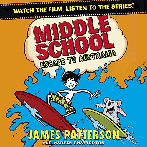 Middle School: Escape to Australia cover art