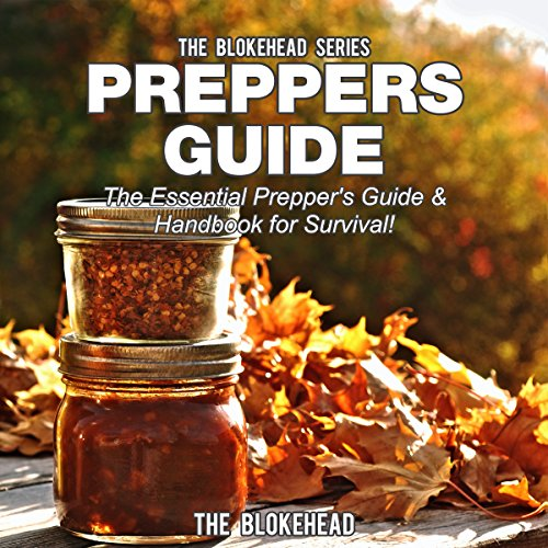 Preppers Guide audiobook cover art
