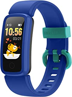 BIGGERFIVE Fitness Tracker Watch for Kids Girls Boys Teens, Activity Tracker, Pedometer, Heart Rate Sleep Monitor, IP68 Wa...