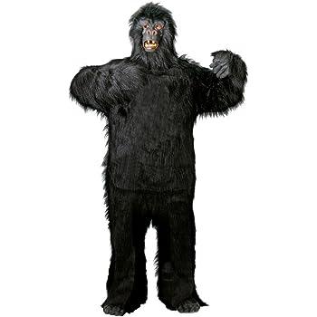 talla M/-/XXXL Foxxeo 40088/Disfraz de gorila para adultos de gran calidad