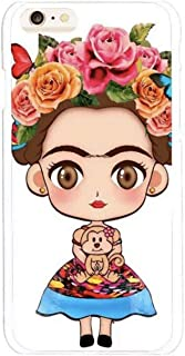 iPhone 7/8/ Plus XS Max Mexican Frida Kahlo Artist Art Floral Phone Flower Case New (7/8 Pus)