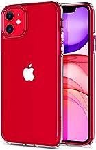 Spigen Coque iPhone 11 [Ultra Hybrid] Bumper en TPU Souple, Dos en PC Rigide et Transparent, Protection - [Air Cushion] Coque Compatible avec iPhone 11 (2019)