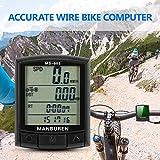 Compteur velo sans fils Vélo VTT Vélo Ordinateur Route Chronomètre Ordinateur...