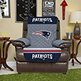 NEW, Official NFL Team Furniture Cover, Reversible (Recliner - Patriots) 80' x 65'