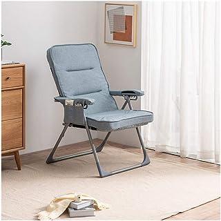 CAO-LIFE Plegable Silla de jardín Tumbona Acolchada Ajustable con reposacabezas reclinable Gravedad ( Color : 04 )