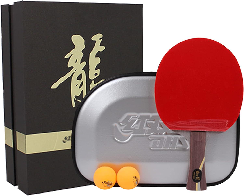 SGAIYUNRT Raquetas de Tenis de Mesa Tienen un Fuerte Poder Explosivo, Palas de Ping Pong con Ataque y Defensa