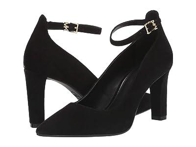 MICHAEL Michael Kors Mila Flex Ankle Strap (Black) Women