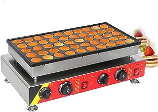 HXXXIN Machine À Muffins Commerciale Électrique À 50 Trous Machine À Dorayaki Électrique Gaufre De Collation De Gâteau Éta...