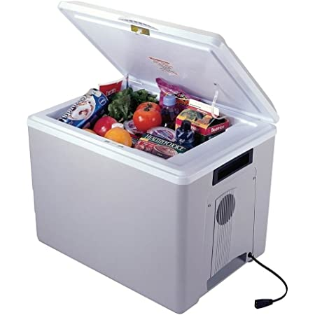 Koolatron Kool Kaddy P75 Thermoelectric Iceless 12V Cooler Warmer, 34L / 36 Quart Capacity, For Camping, Travel, Truck, SUV, Car, Boat, RV, Trailer, Tailgating, Made in North America